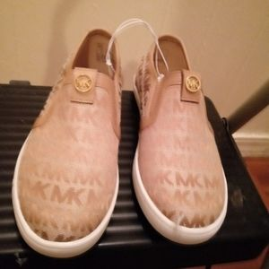 New pair of kids Michael kors sneaker size 2